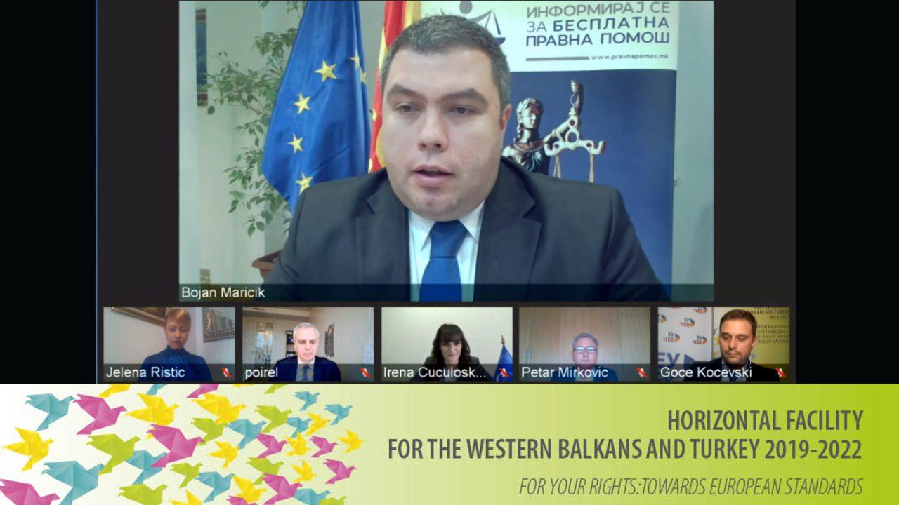 ИЗВЕСТУВАЊЕ ЗА МЕДИУМИТЕ: Промовирање на кампања за подигање на свеста за Бесплатната правна помош во Северна Македонија