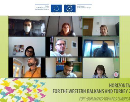 Националното координативно тело за бесплатна правна помош во Северна Македонија дискутираше за клучни прашања